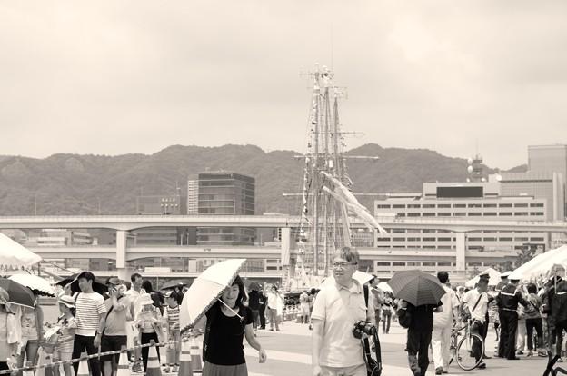 神戸開港150周年記念*景色
