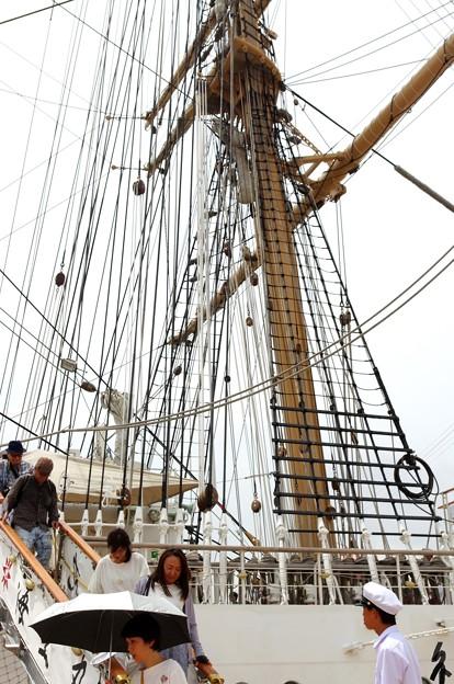 神戸開港150周年記念*海王丸6