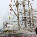 神戸開港150周年記念*海王丸8