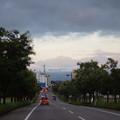 写真: 台風一過、久しぶりに剱岳見えた