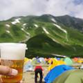 写真: 乾杯! 立山!