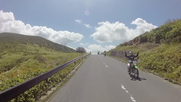 写真: 志賀高原バイク乗り達 その2