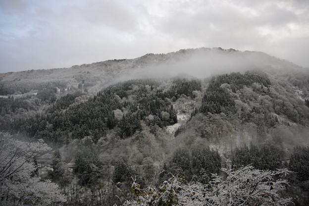 下梨雪景色