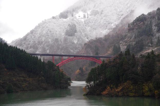 庄川利賀ダム橋