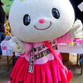 ピンク色の衣装を着た・・たかたのゆめちゃん