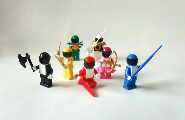 知育戦隊レゴレンジャー (Brick Sentai Lego Ranger)