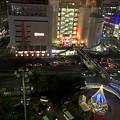 写真: 三ノ宮 駅ビル  11階からの眺め(イルミネーション)
