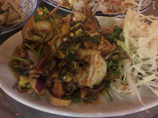 写真: 海老の炒め物