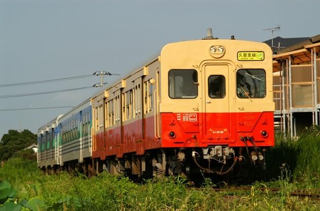 国鉄色になった久留里線のキハ30 98