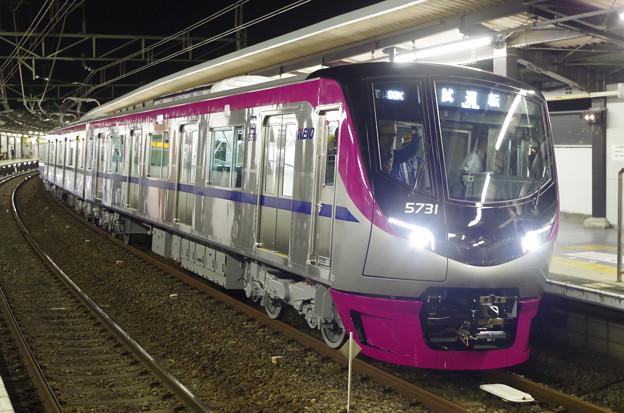 京王5000系5731編成試運転 at 京王稲田堤駅