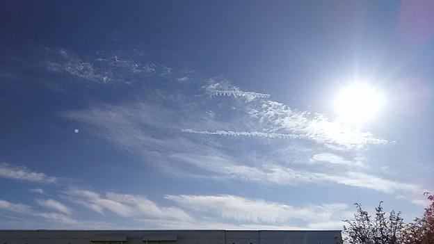 ギザギザ雲 2本