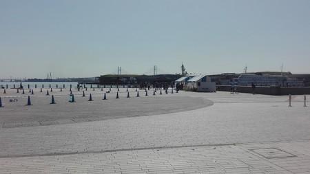 アピール走行開催場所@横浜開港祭