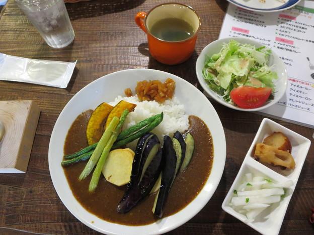 素揚げ野菜カレー ランチセット
