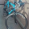 写真: 自転車掃除