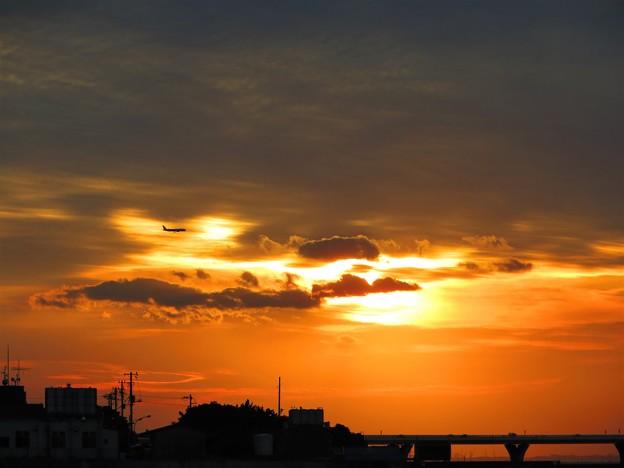 Photos: 今日観た風景 夕焼け