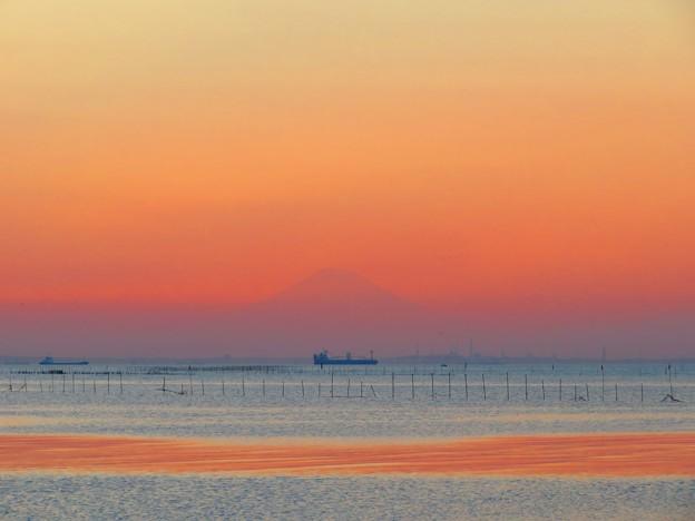 Photos: 今日観た風景 夕景 富士山