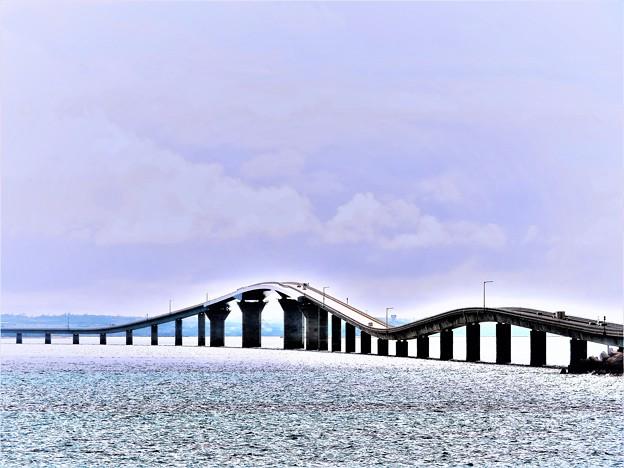 写真: 南の島で見た風景 橋
