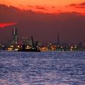 写真: 今日観た風景 東京湾 横浜