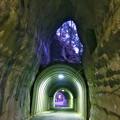 早朝ハイキング(1) 2階建てトンネル