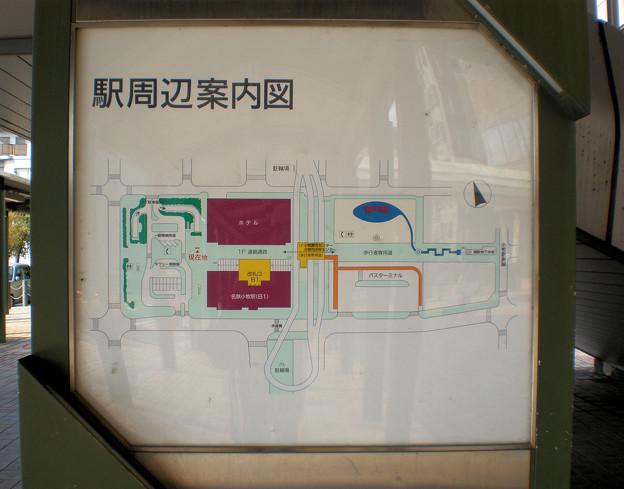 Photos: 小牧駅周辺案内図