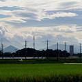 写真: 白い雲が拡がって・・