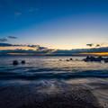 三保海岸 日の出