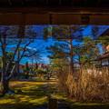 高山陣屋 庭