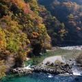 写真: 付知峡・宮の上橋付近 (3)