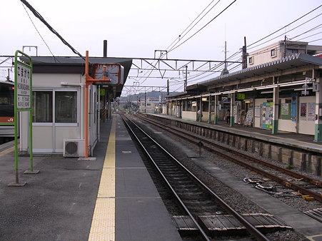 高麗川駅ホーム