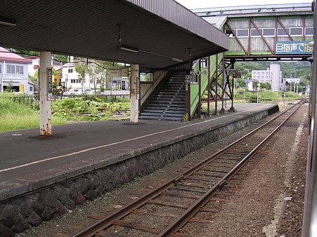 南稚内駅ホーム
