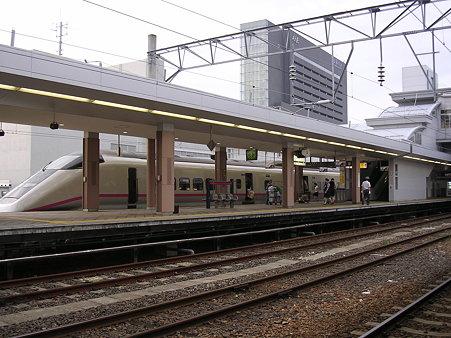秋田駅新幹線ホーム