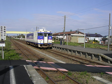 鵡川駅ホーム2