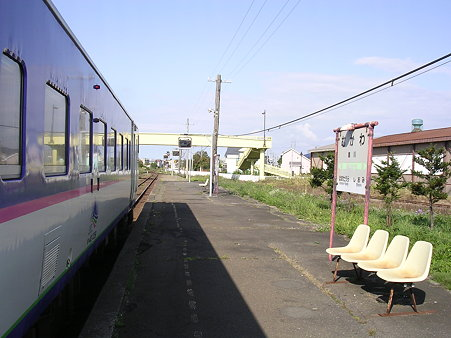 鵡川駅ホーム1