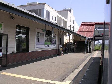 芽室駅ホーム