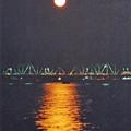写真: 10月の満月