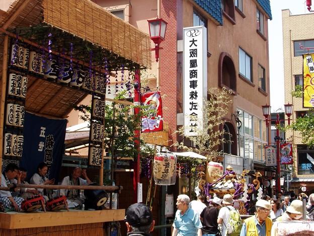 浅草三社祭「ただいま休憩中」