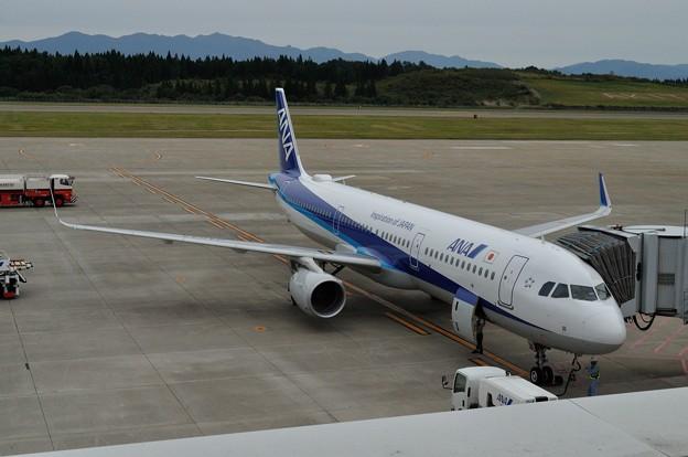 ANA A321ceo 秋田空港 17-10-06 15-07