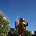 写真: 黄金のペンギン