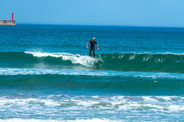 写真: 海の日サーフィン-01905