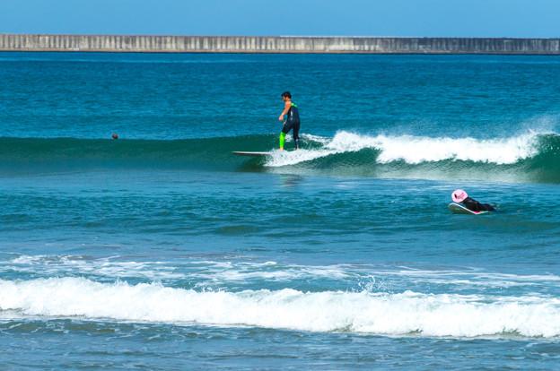 写真: 海の日サーフィン-01899