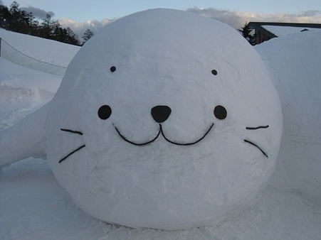 菅平高原の雪像たち (15)