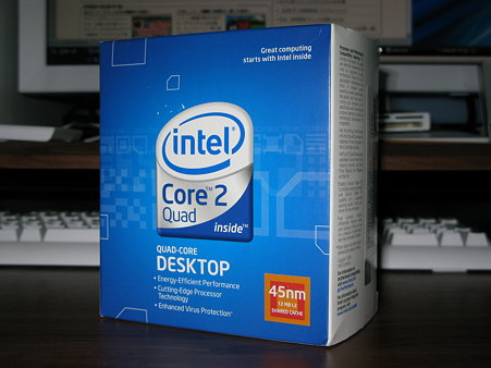 2009.07.28 Intel Core 2 Quad Q9550 パッケージ