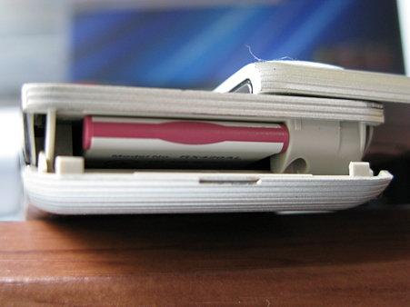 2009.09.24 WILLCOM アドエス W-SIM装着