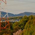 写真: 下原住宅から見えた(たぶん)御嶽山 - 3