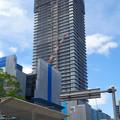 写真: 建設進む御園座の高層マンション(2017年4月18日) - 1