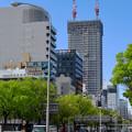 写真: 建設進む御園座の高層マンション(2017年4月18日) - 8