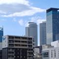 写真: 劇団四季の旧・新名古屋ミュージカル劇場跡地付近から見た名駅ビル群 - 2