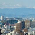 写真: 全面開業翌日(4月18日)のJRゲートタワー - 27:ゲートタワーから見えた遠くの山々