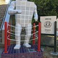 Photos: JR多治見駅南口の交番横にタイルマン! - 1