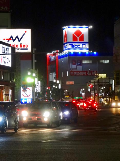 リニューアルオープン初日(17年4月28日)のヤマダ電機テックランドNEW春日井店(夜) - 6